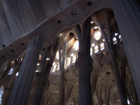 in interior Sagrada familia