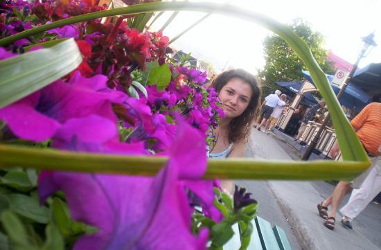 G printre flori