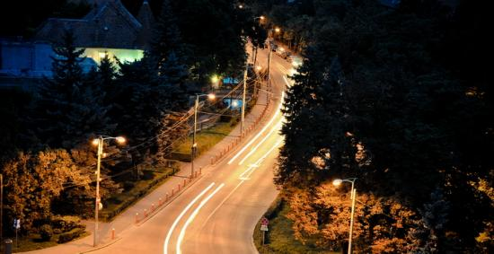 cluj-night-street
