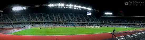 Panorama nocturna Cluj Arena