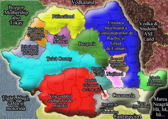 Romania - harta