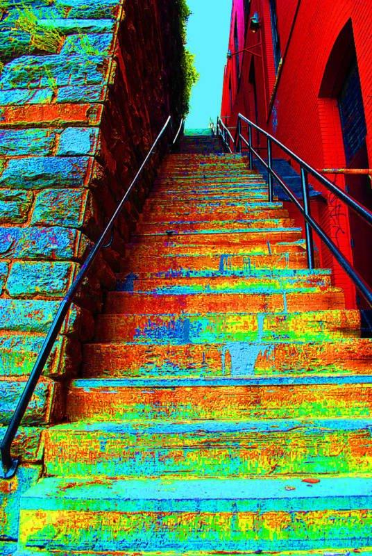 Cromatic Stairs