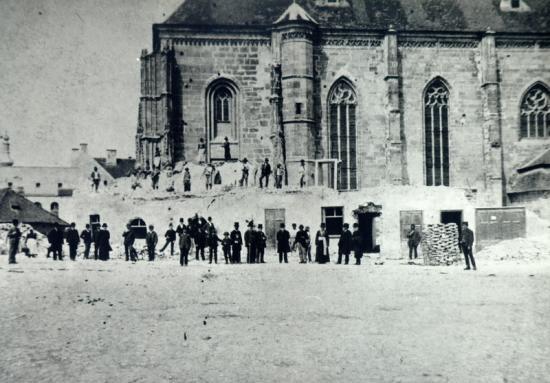 278-se demolau cladirile de pe latura de sud a bisericii sf mihail