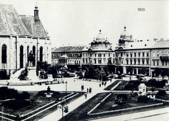 316-1939-piata libertatii, Biserica ,matei Corvin si Lupoaica