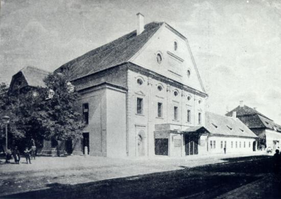 345-fostul teatru maghiar-azi casa universitariol