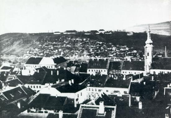 406-1887-zona pietii muzeului vazuta din turnul bisericii Sf. Mihail