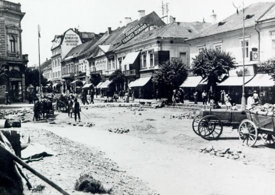 416-1936-asfaltarea pietii Libertatii