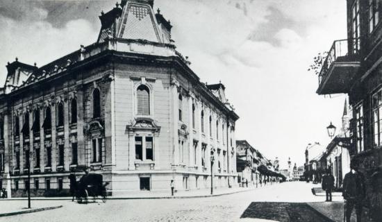418-1909-str. 30 Decembrie-sediul I.C.P., fosta banca