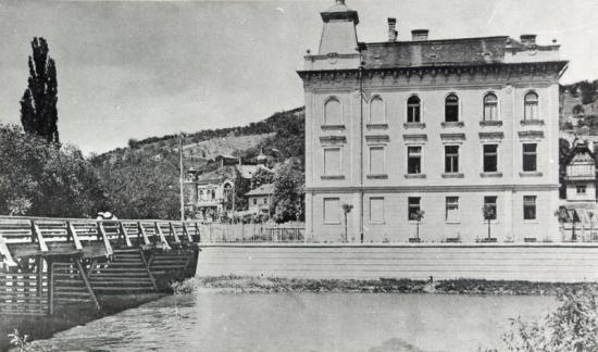 502-1905 Somesul si podul napoca