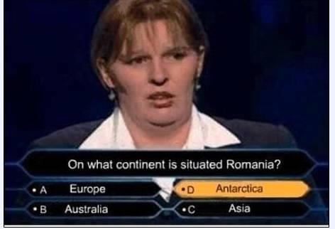 Romania is in Antarctica