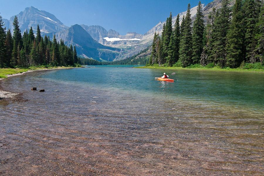 Lake Josephine, Montana