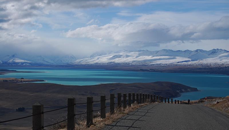Lake Tekapo from Mount John, South Island, New Zealand