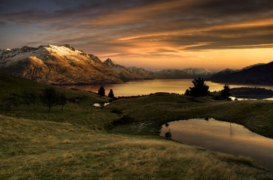 Queenstiwn, South Island, New Zealand