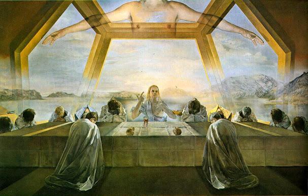 Salvador Dali Last Supper