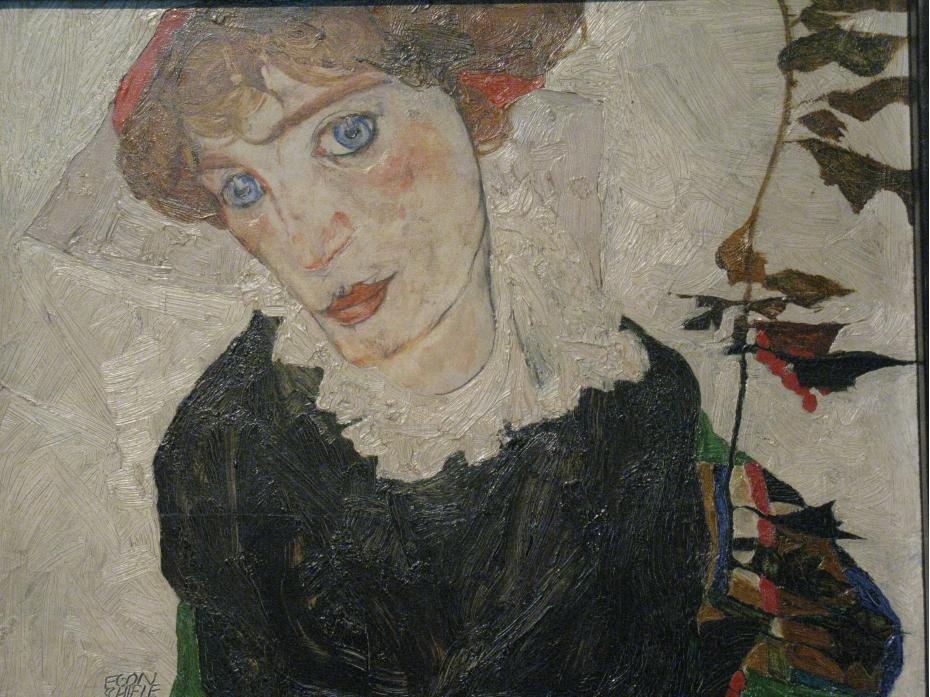 Porträt von Wally (1912)