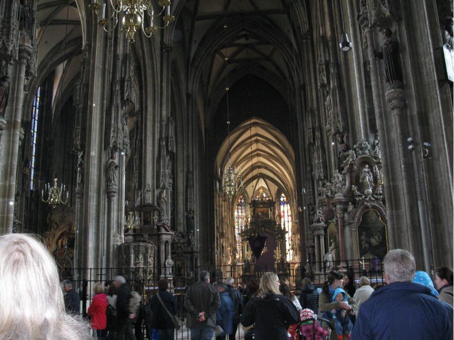 interior catradala Sf. Stefan