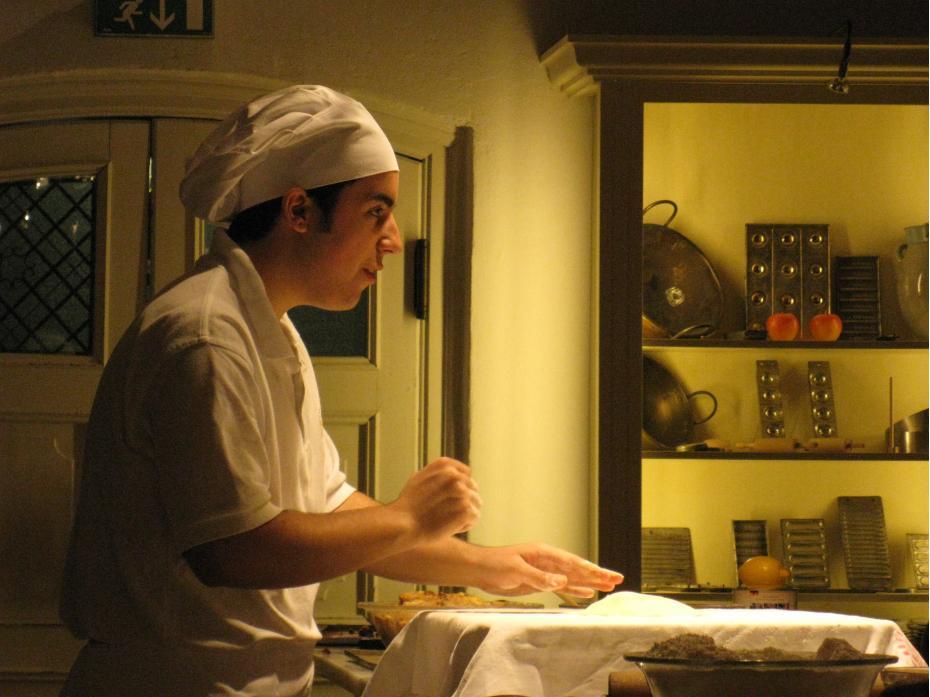 prepararea placinta mere 1