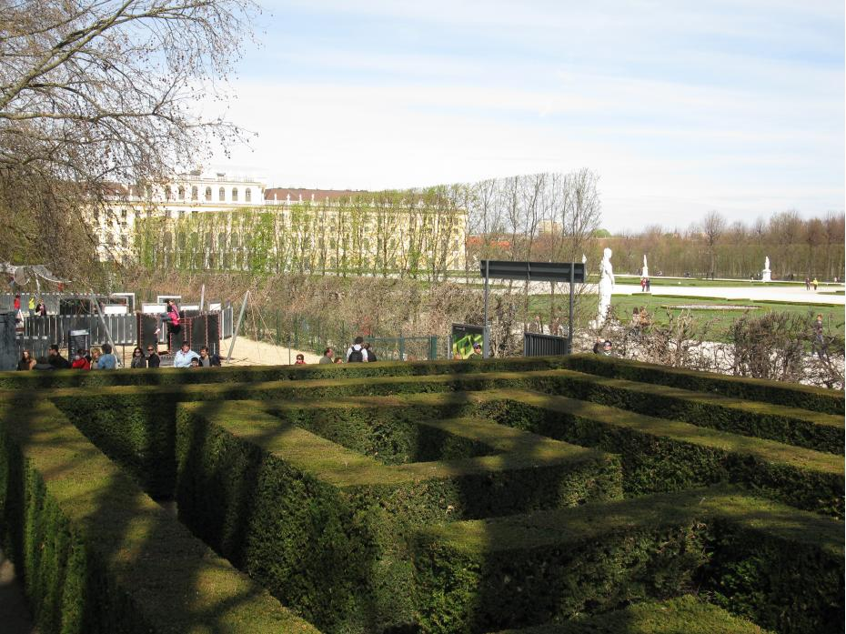 Schoenbrunn in departare