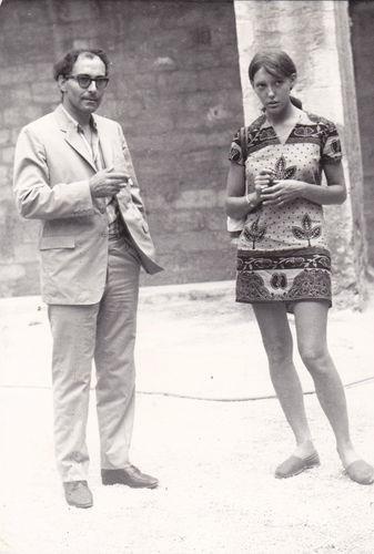 Godard and Anne Wiazemky