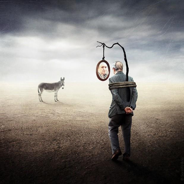 donkey-man