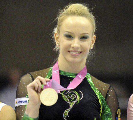 Sandra Izbasa- aur la olimpiada