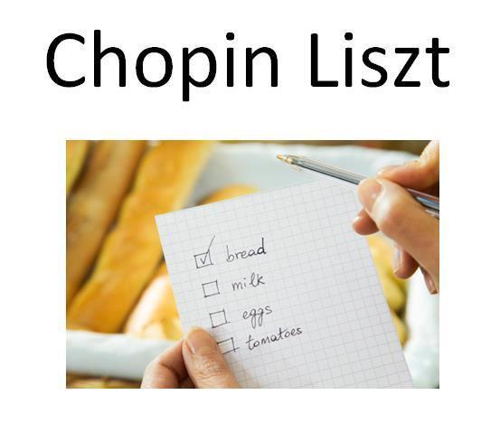 Chopin List