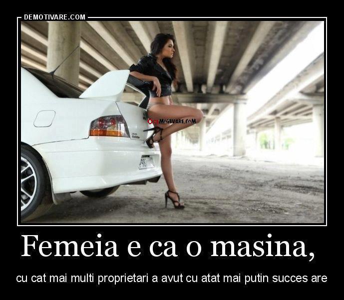 femeia-masina