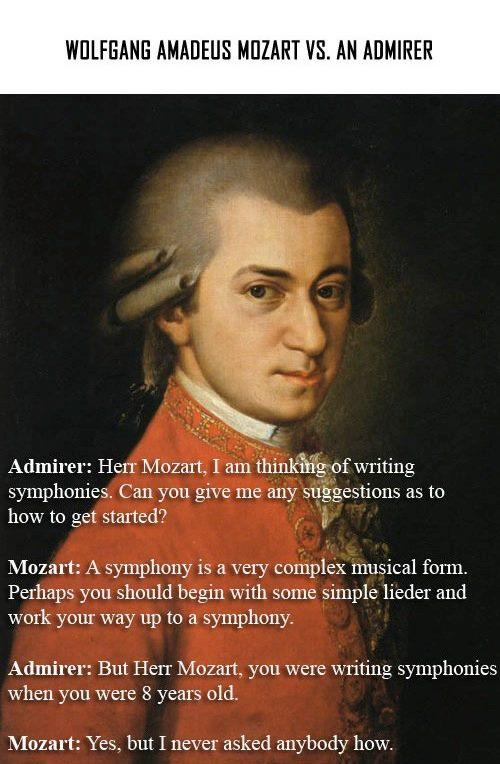 Mozart Vs pupil