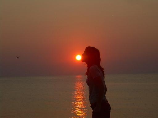 sarutul soarelui
