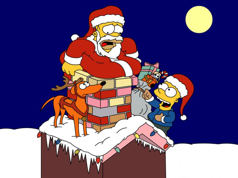 christmas-simpsons
