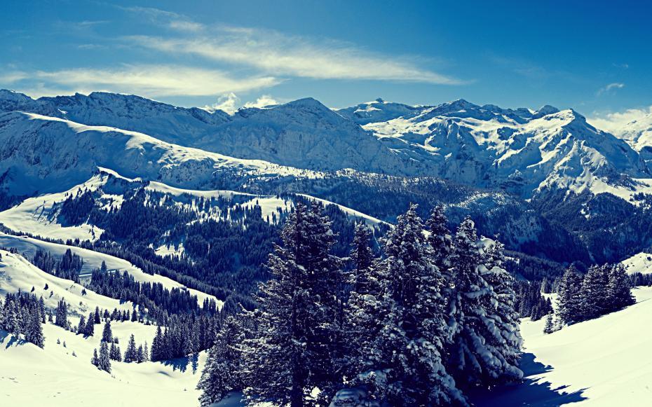 iarna in munti