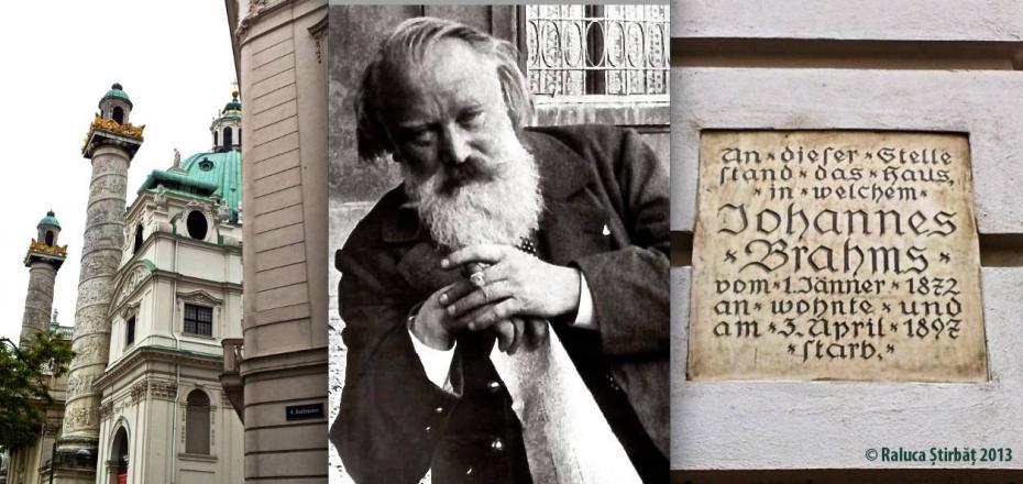 Brahms lived here
