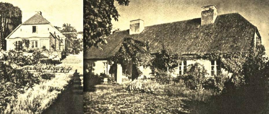 Zelazowa Wola Chopin's house 1949