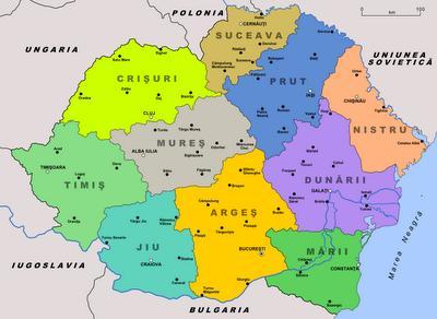 Romania in 1938