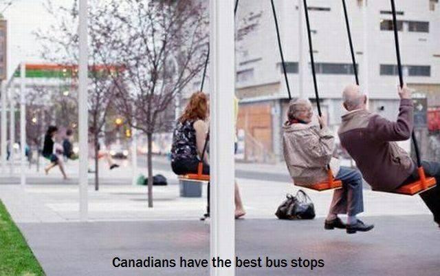 Canadianbus stop