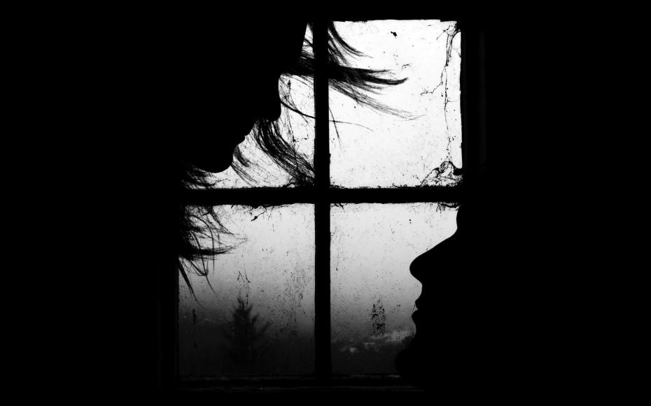 negru- window