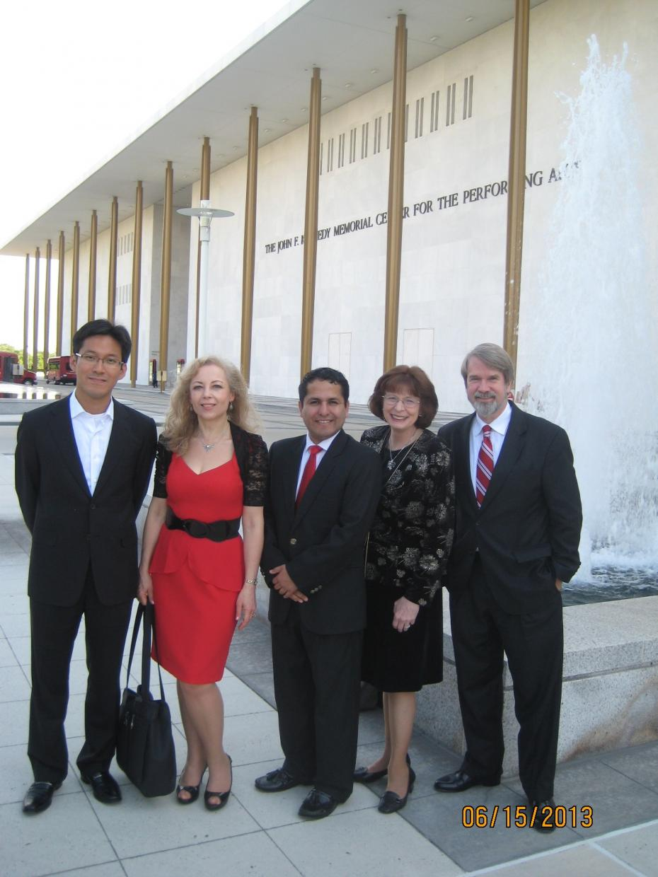 WPI 2013 Judges at Kennedy Center