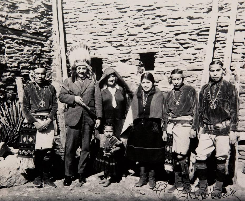 einstein at the great canyon 1922