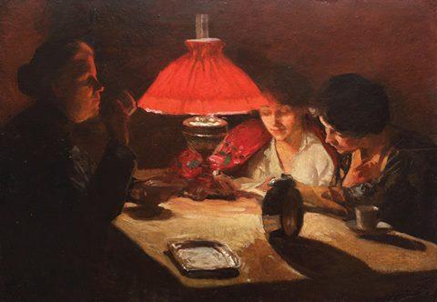 O seară în familie - Ipolit Strâmbu