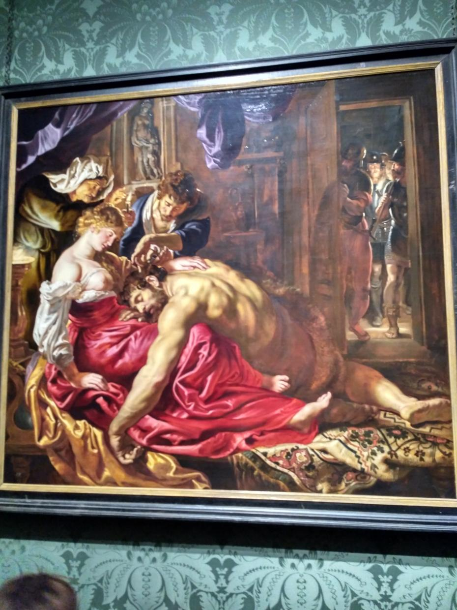 Rubens, Samson and Delilah