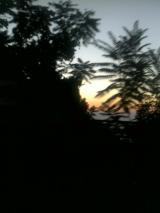 Sunset towards beirut