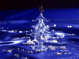 wallpaper-christmas-tree-crystal-blue