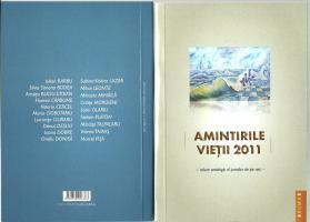 Antologia AMINTIRILE VIETII 2011 coperta