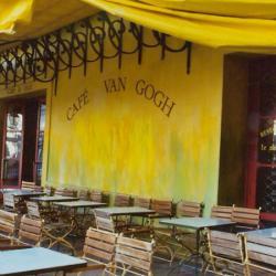 cafeneaua_van_Gogh  Arles a intrat in istorie datorita unui pictor care nu a reusit sa vanda in timpul vietii decat o singura panza, si aceea pentru un pret modest : Vincent van Gogh. Acesta a locuit in Arles pret de peste un an, una dintre cele mai proli