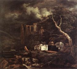Ruisdael-Cimitirul Evreiesc.